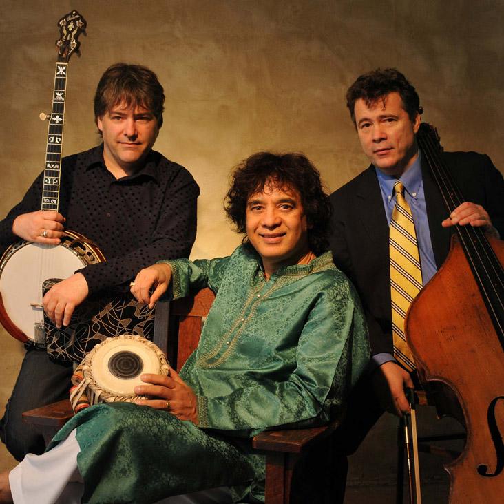 Zakir Hussain, Béla Feck, Edgar Meyer & the Symphony Orchestra of India (SOI)
