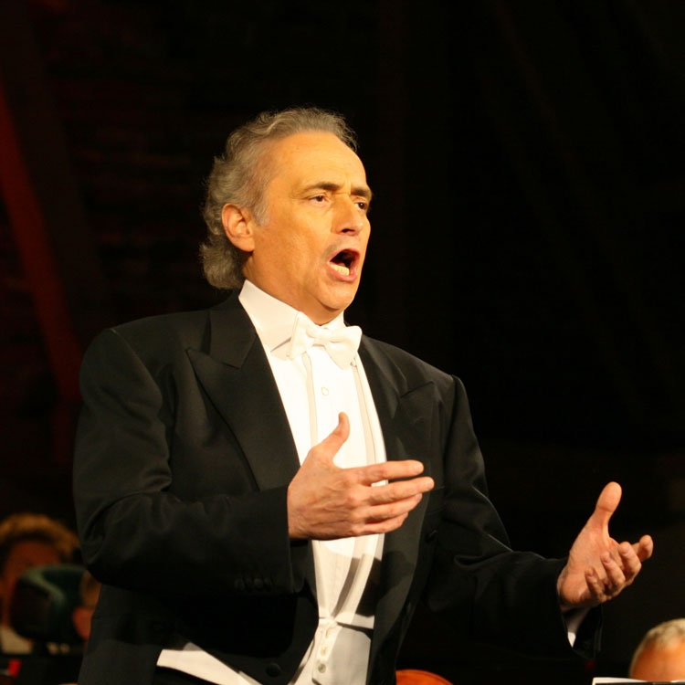 "José Carerras with Moscow City Symphony ""Russian Philharmonic"""